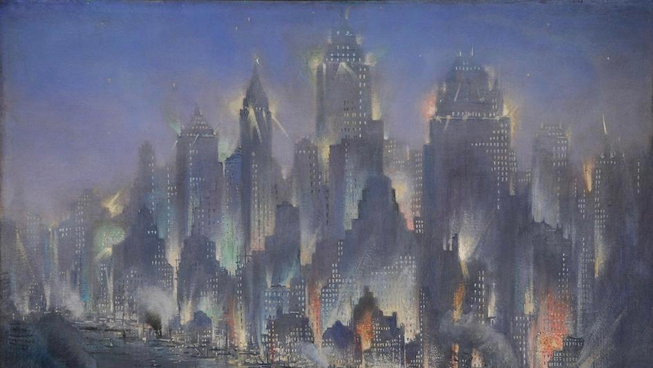 Gennaro Favai, New York, 1930 (détail)