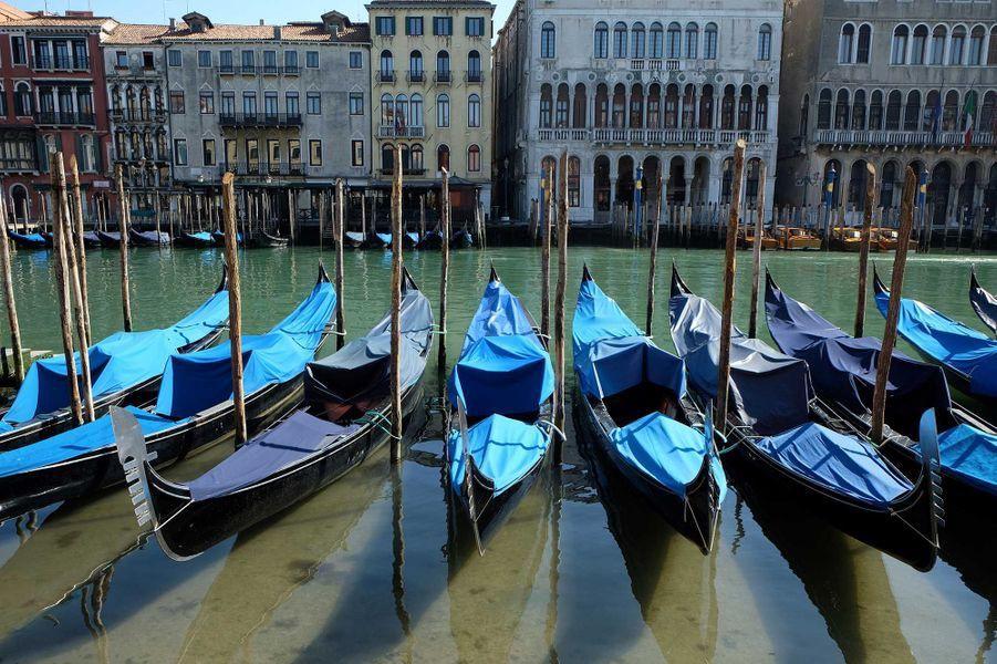 Les eaux de Venise limpides en l'absence d'activité touristique © Manuel Silvestri / Reuters