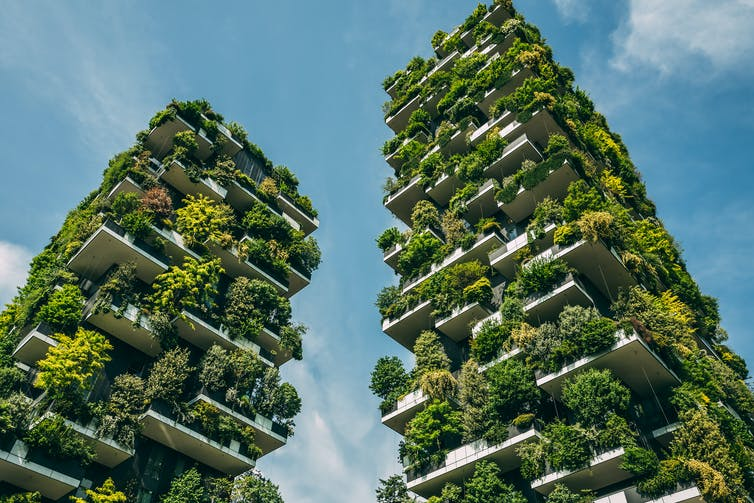 The Bosco Verticale (Vertical Forest) in Milan_ designed by Stefano Boeri_Sabino Parente_Shutterstock